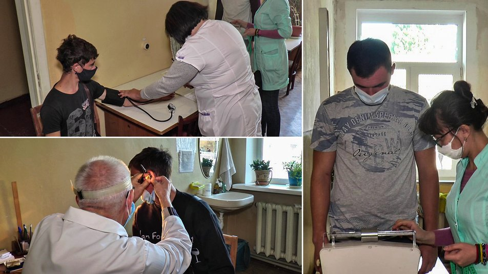 Призовники з Кiровоградщини пройшли медогляд (ВIДЕО)