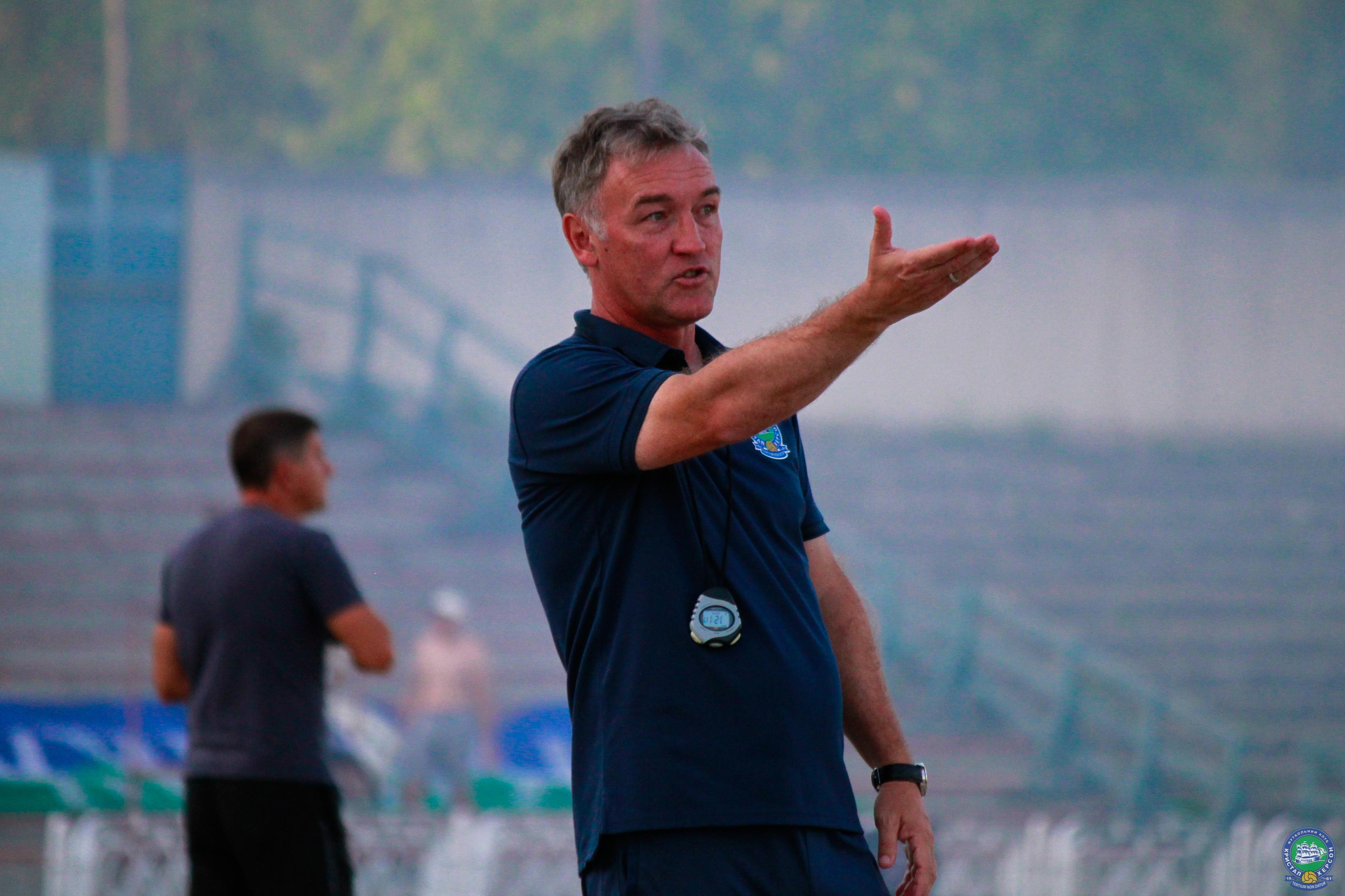 Екс-тренер футбольного клубу з Кiровоградщини залишив Кристал