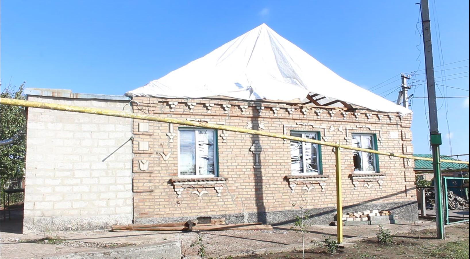 Житель Кропивницького потрапив у смерч, від удару потерпілий втратив свідомість (ФОТО)