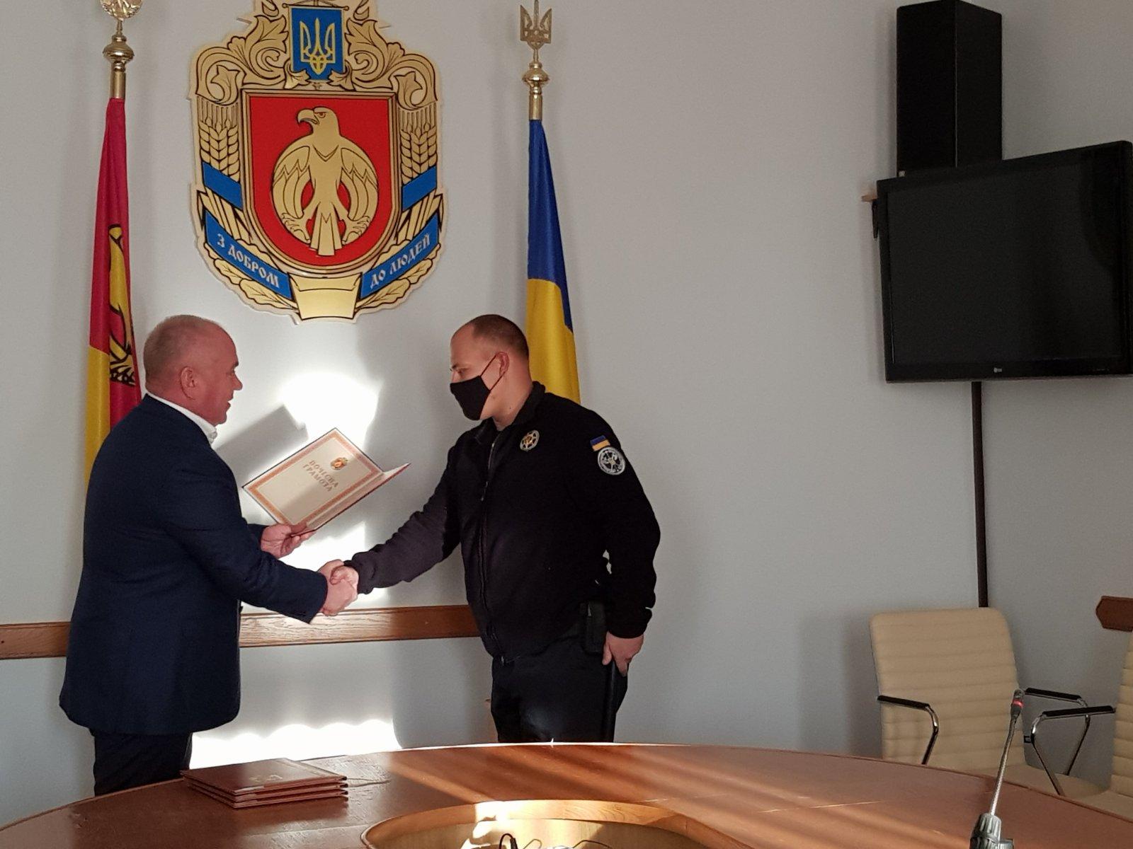 У Кропивницькому нагородили співробітників Служби судової охорони (ФОТО)