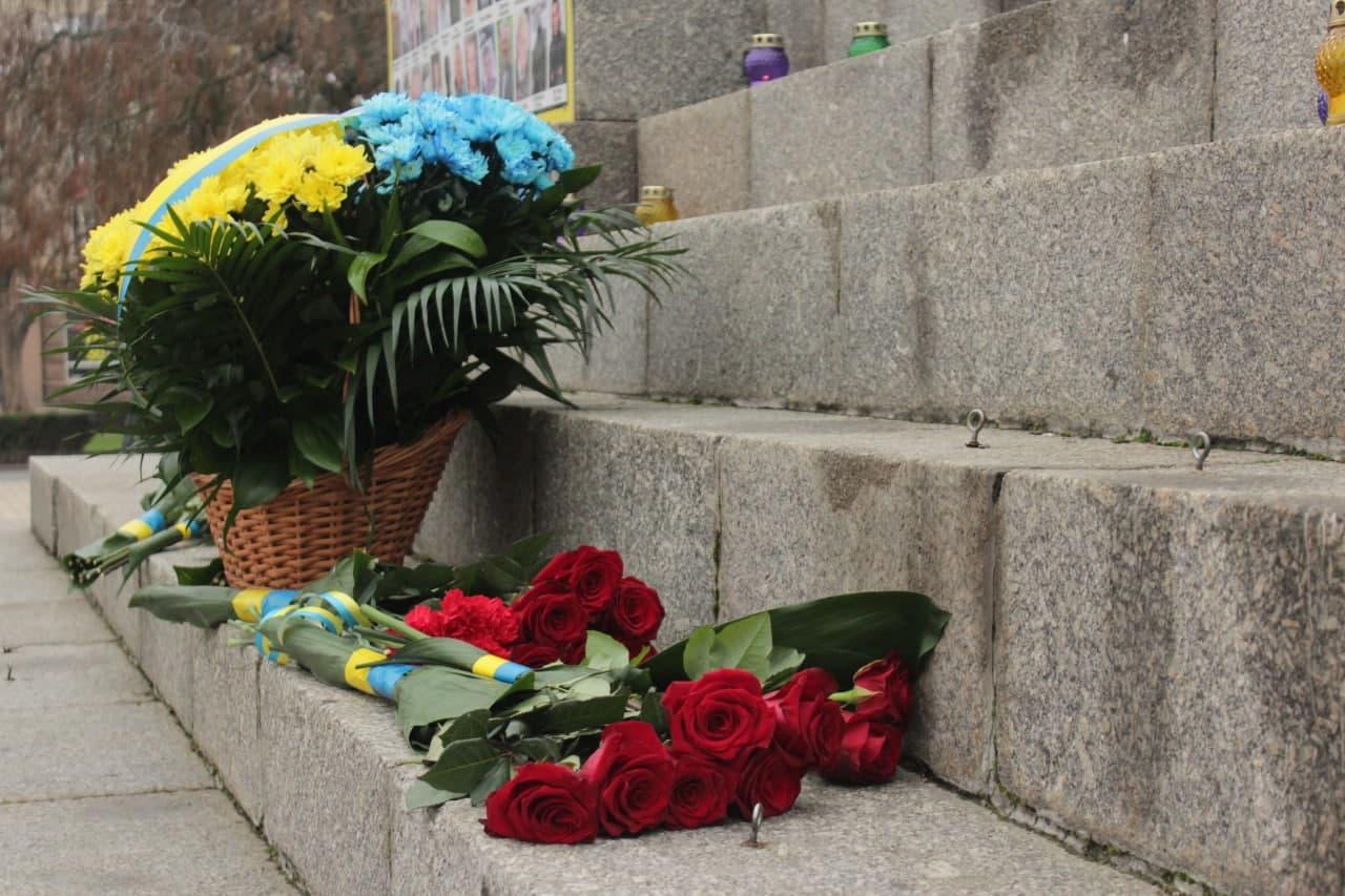 У Кропивницькому відзнaчaють День Гідності тa Свободи (ФОТО)
