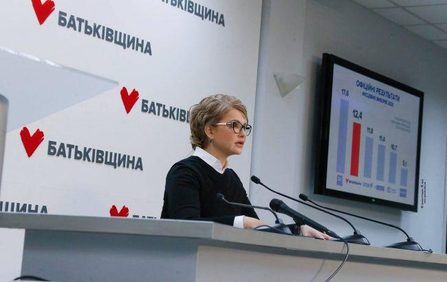Експерт назвав партію Тимошенко єдиною, яка формує альтернативний порядок денний