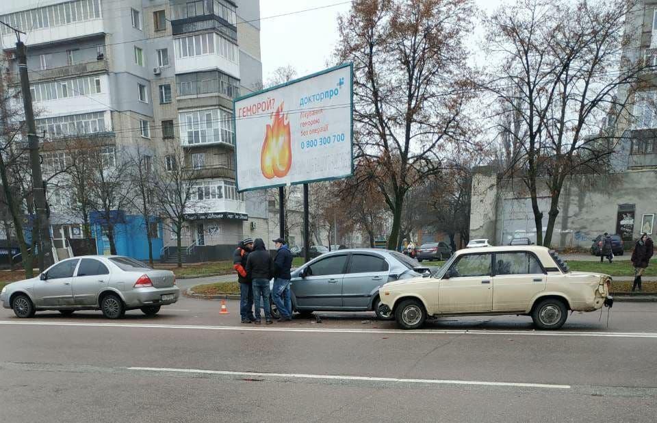 У Кропивницькому нетверезий водiй спричинив ДТП (ФОТО)
