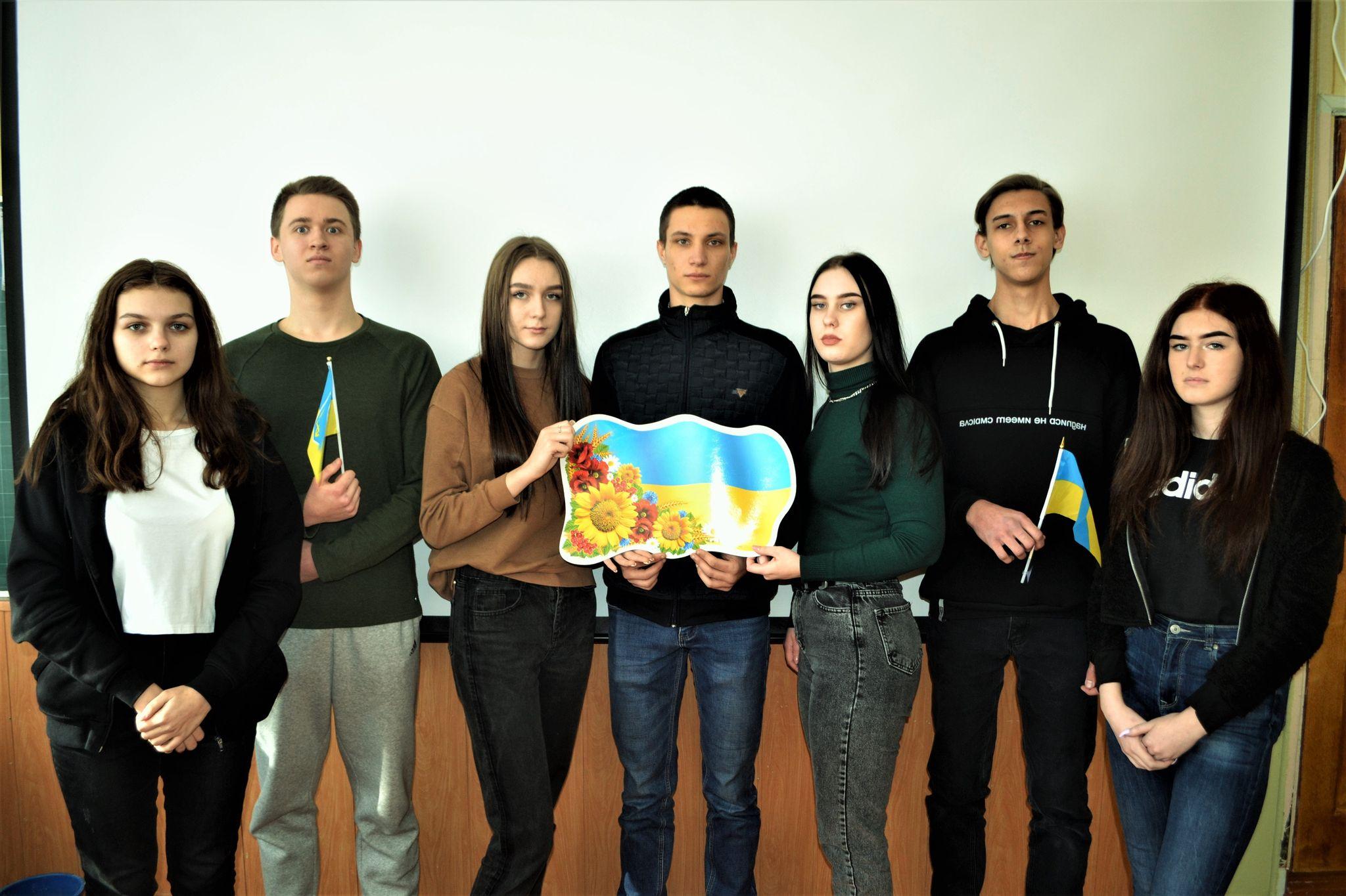 Кропивницькі школярі вшанували пам`ять Героїв Небесної Сотні (ФОТО)