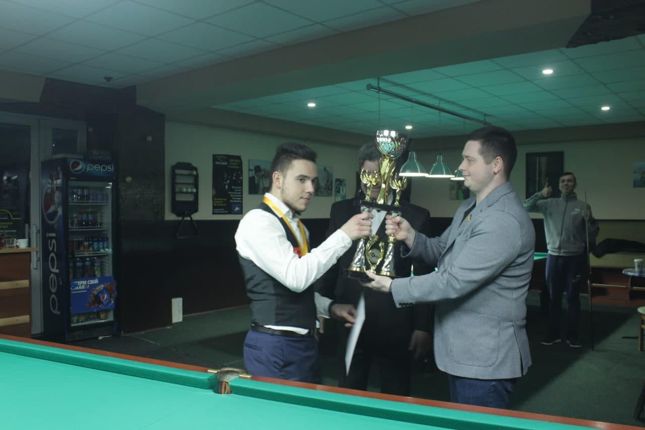 У Кропивницькому нагородили переможців чемпіонату області з більярду (ФОТО)