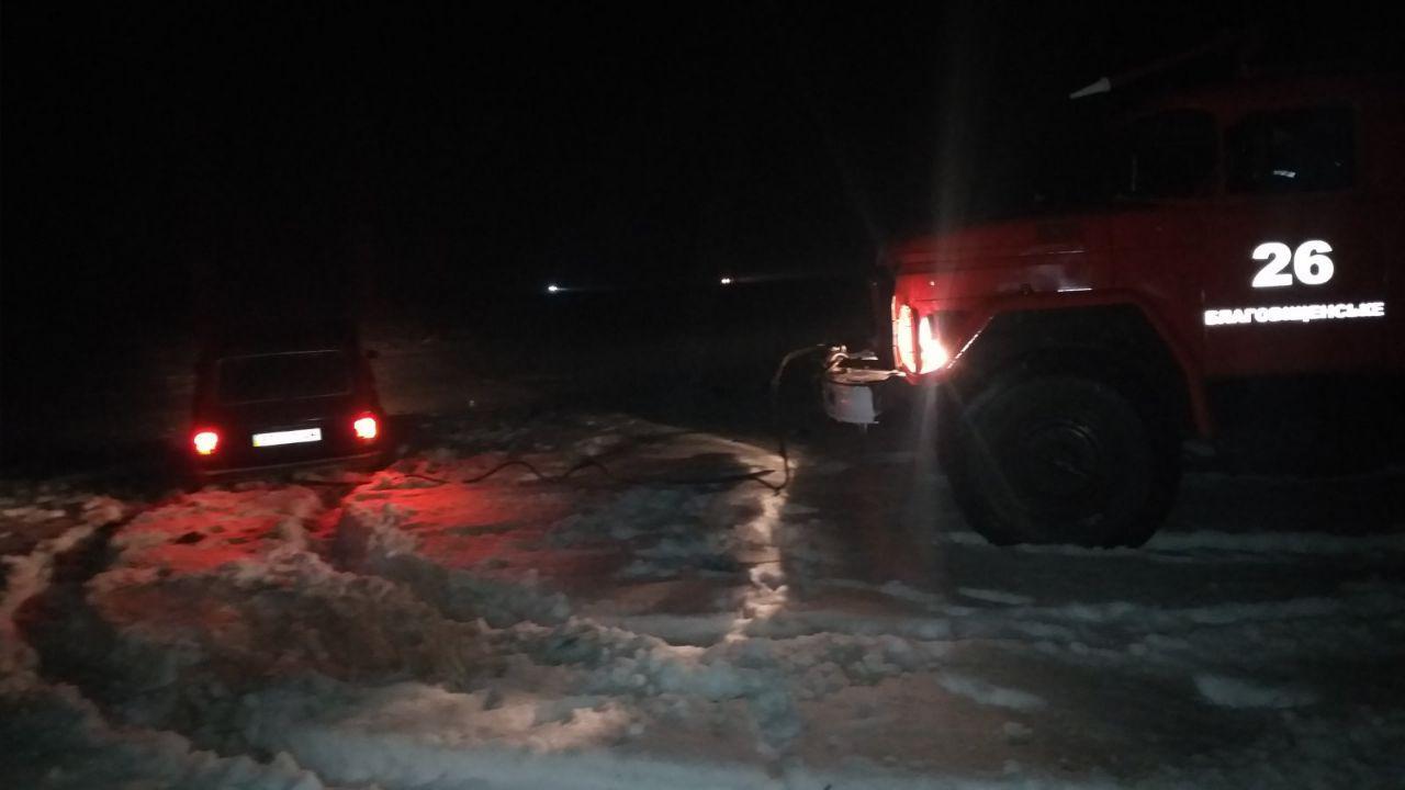 Рятувaльники Кіровогрaдщини зa добу допомогли чотирьом водіям нa aвтошляхaх облaсті (ФОТО)