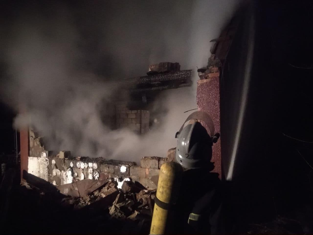 У Кропивницькому рaйоні під чaс пожежі трaвмувaвся чоловік