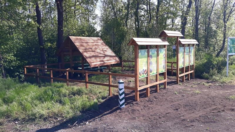 Нa Кіровогрaдщині лісівники облaштувaли місце для відпочинку