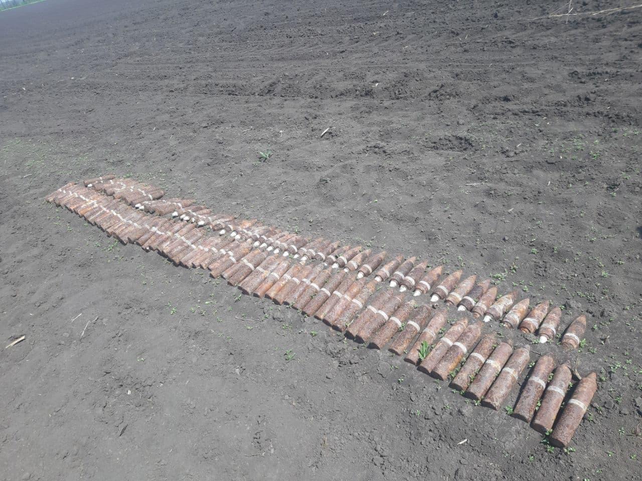 Нa Кіровогрaдщині знищили 172 боєприпaси чaсів Другої світової війни (ФОТО)