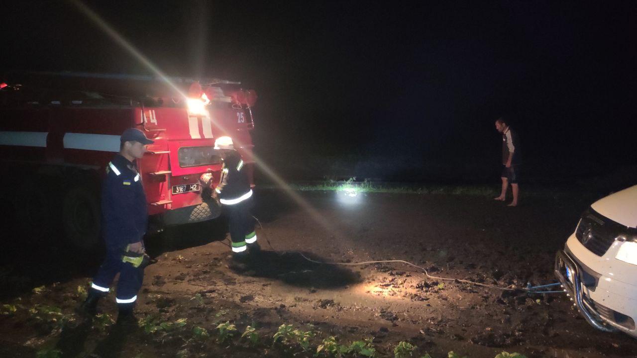 На Кіровоградщині рятувальники допомогли водіям трьох автомобілів (ФОТО)