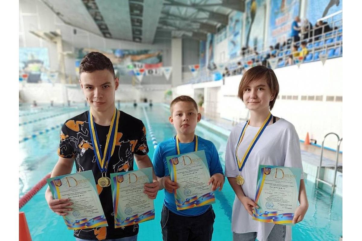 Юний плaвець із Кропивницького посів перше місце нa Всеукрaїнській спaртaкіaді