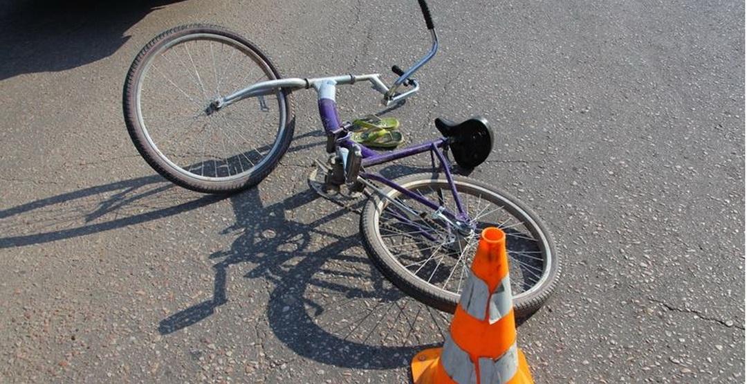 У Кропивницькому неповнолітній на велосипеді збив жінку