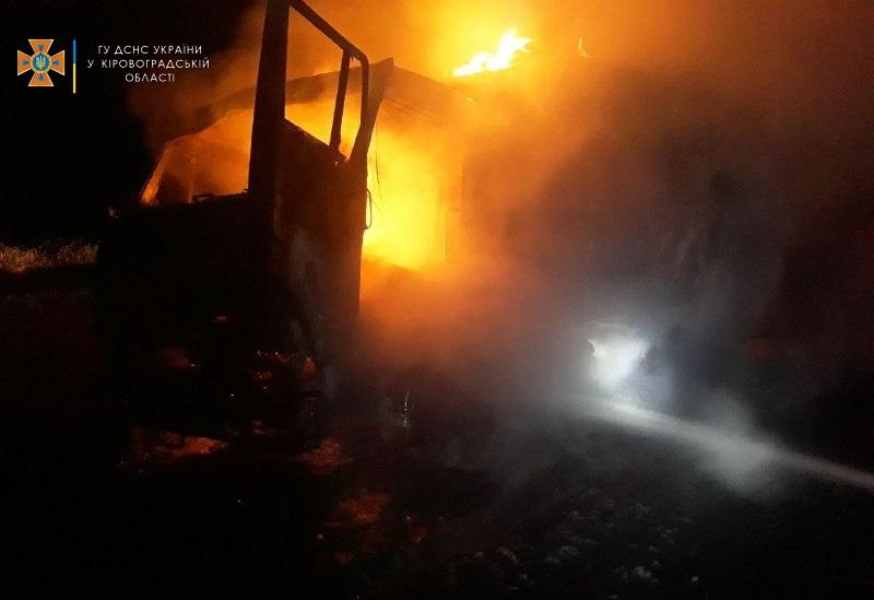 Три автiвки горiли на Кiровоградщинi за останню добу (ФОТО)