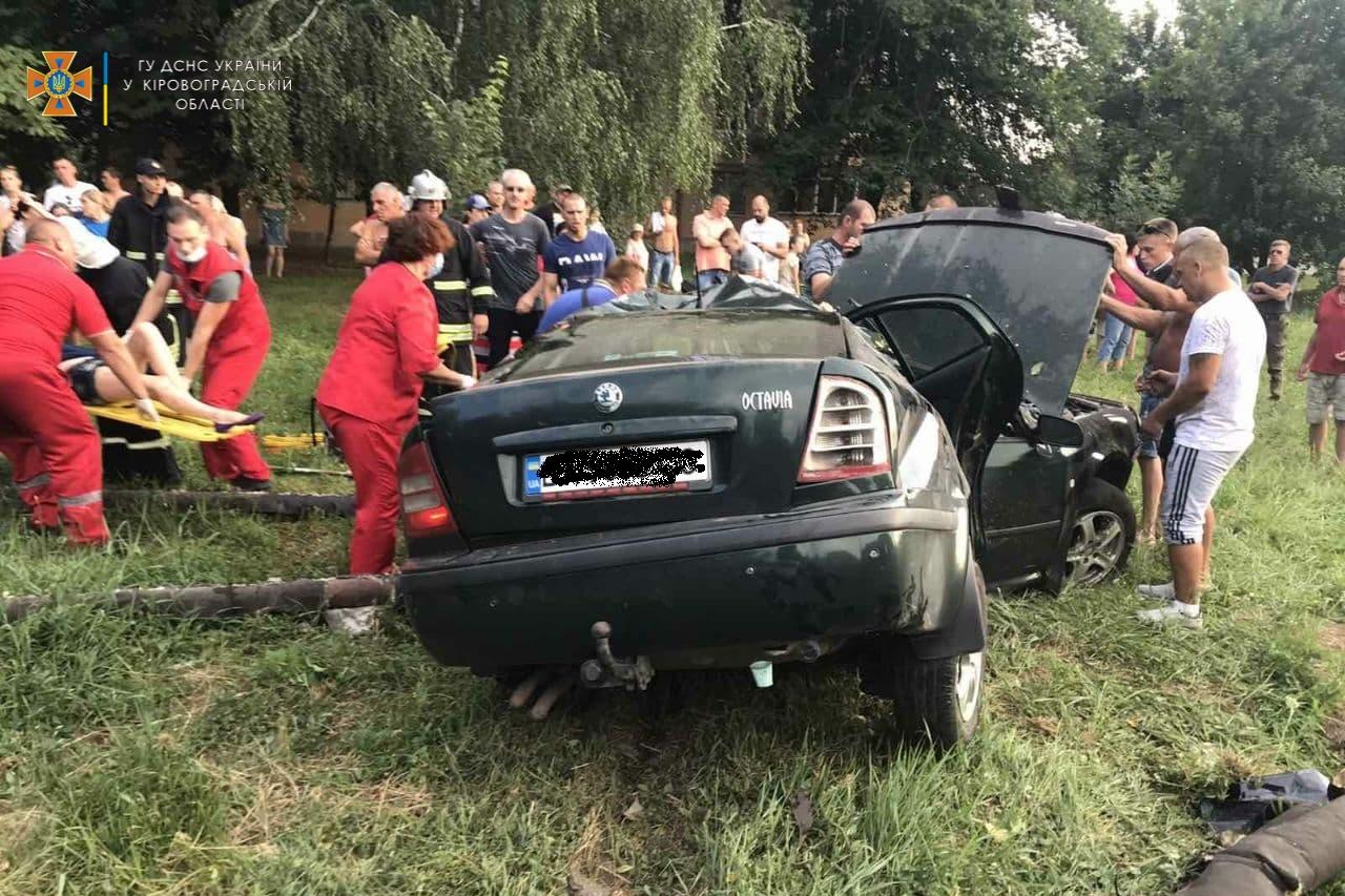 Наслiдки ДТП у Кропивницькому довелося лiквiдовувати рятувальникам