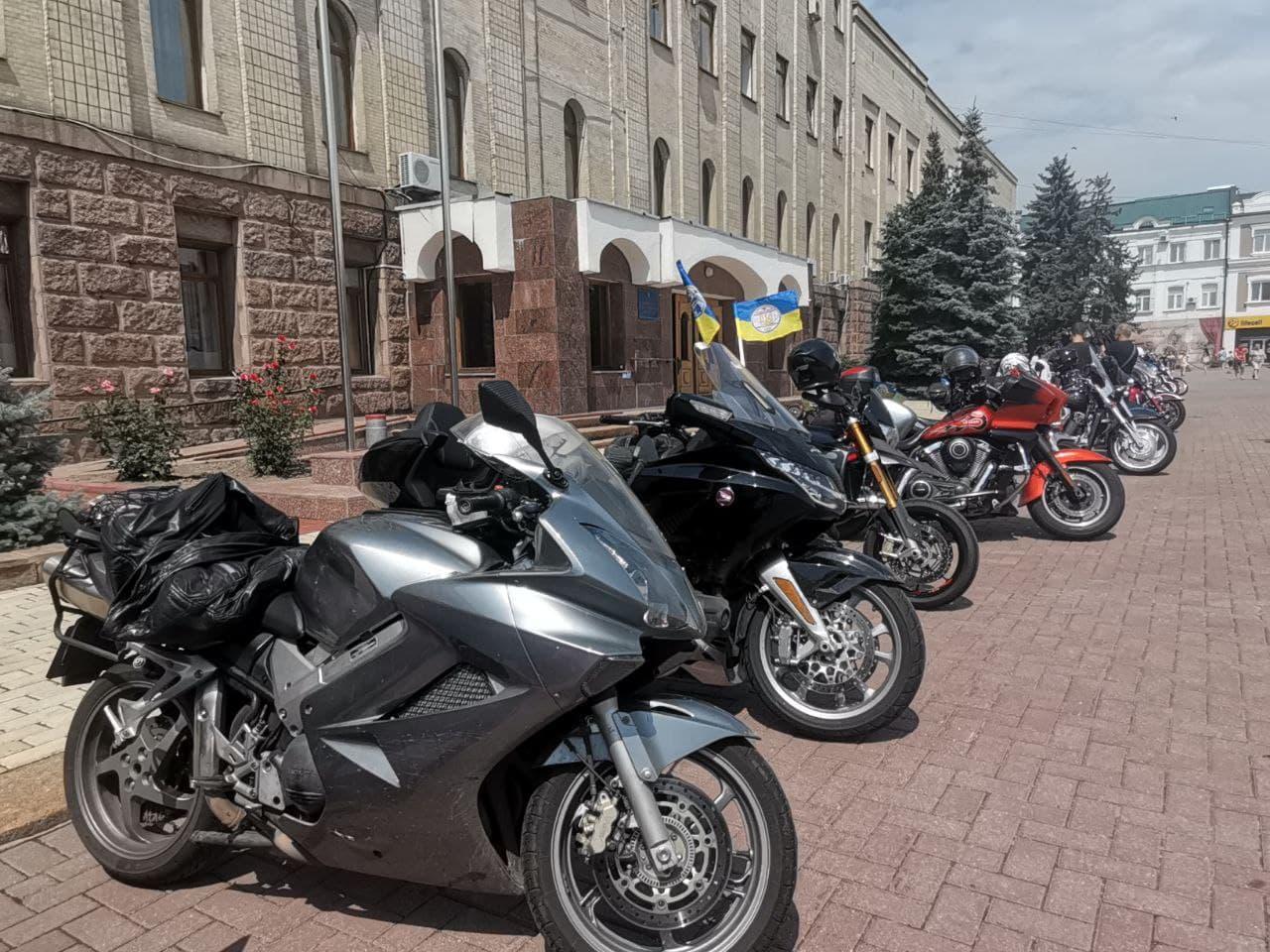 """""""Мотопробiг єдностi"""" побував у Кропивницькому (ФОТО)"""