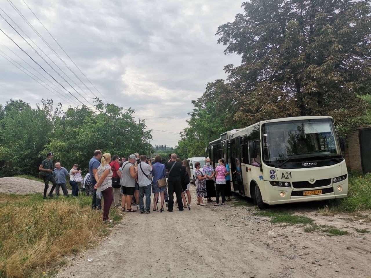 У Кропивницькому запрацювали виїзні пункти вакцинації (ФОТО)