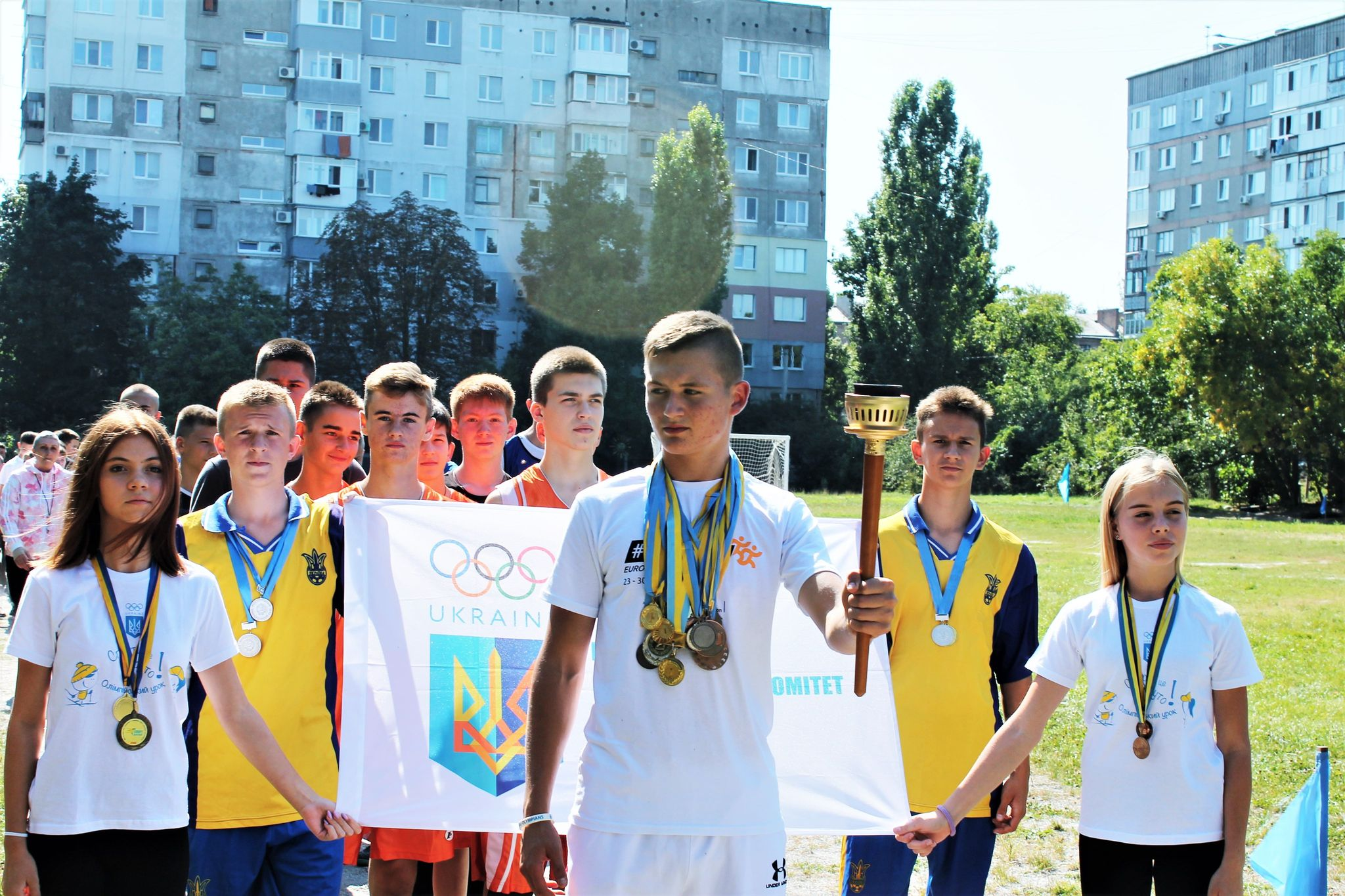 Для старшокласників Кропивницького провели спортивний фестиваль (ФОТО)