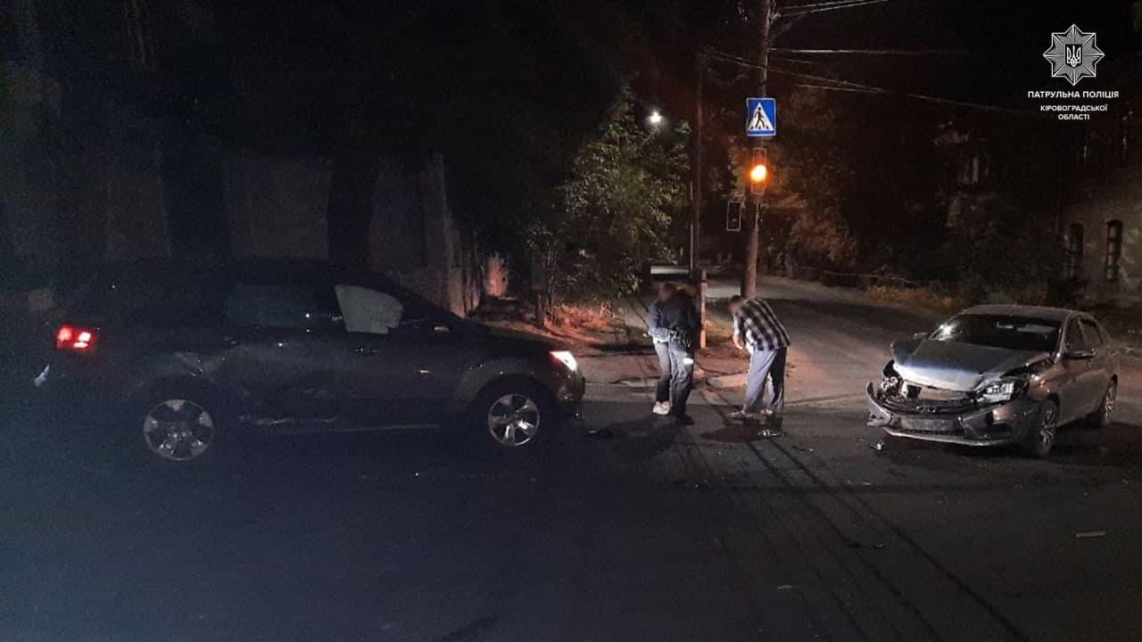 У Кропивницькому водійка спричинила ДТП (ФОТО)