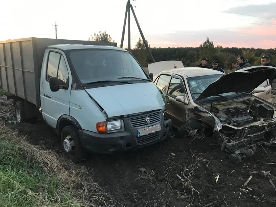 Пасажирка Geely постраждала в ДТП на Кiровоградщинi (ФОТО)
