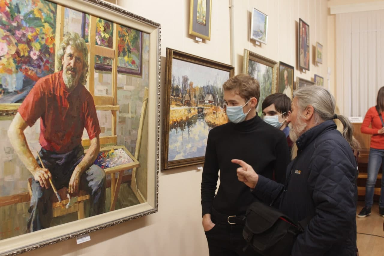 Художники Кропивницького відзначають професійне свято (ФОТО)